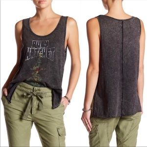 Free People | Ruby Distressed Graphic Tank Top